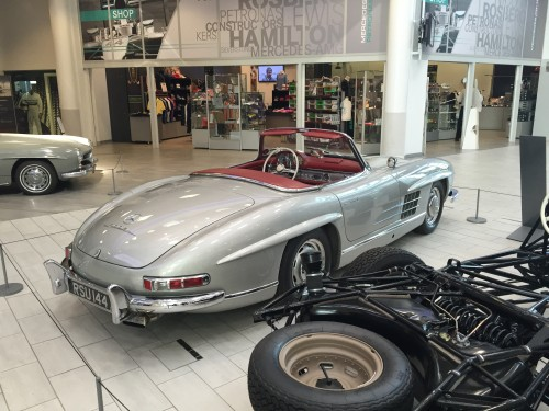 TC attend Gamma SIP conference at Mercedes Benz World