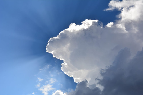 Every cloud has a silver lining…